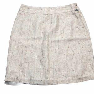 Kate Hill Petite Woven Pattern Skirt - SZ 12P